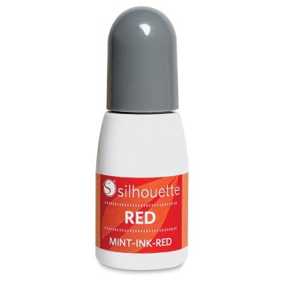 Silhouette Mint - ink red (5ml bottle)