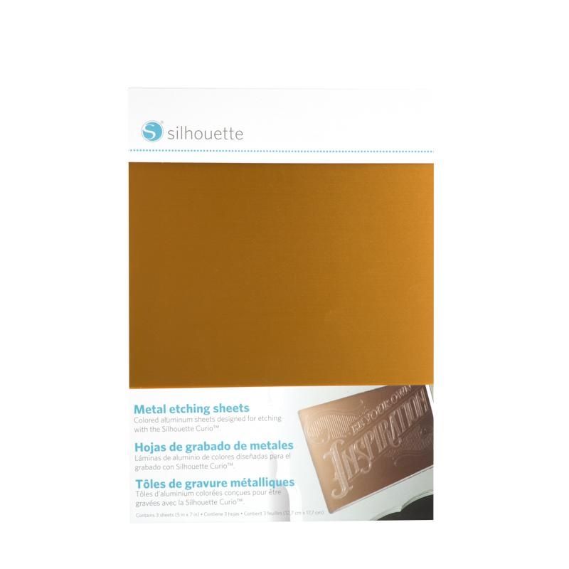 Silhouette Curio - Metal Etching Sheets
